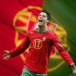 والپیپر کریس رونالدو در پرتغال برای موبایل