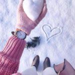 ژست عکس در برف جدید