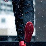 ژست عکس در برف پسرونه