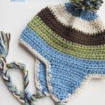 مدل کلاه شال گردن بافتنی بچه گانه رنگی