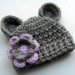 مدل کلاه بافتنی خوشگل برای دختر بچه ها