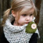 مدل شال گردن بافتنی بچه گانه دختر