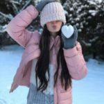 عکس برف عاشقانه شاد برای پروفایل