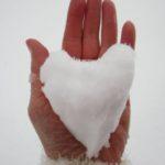 قلب برفی رمانتیک برای استوری
