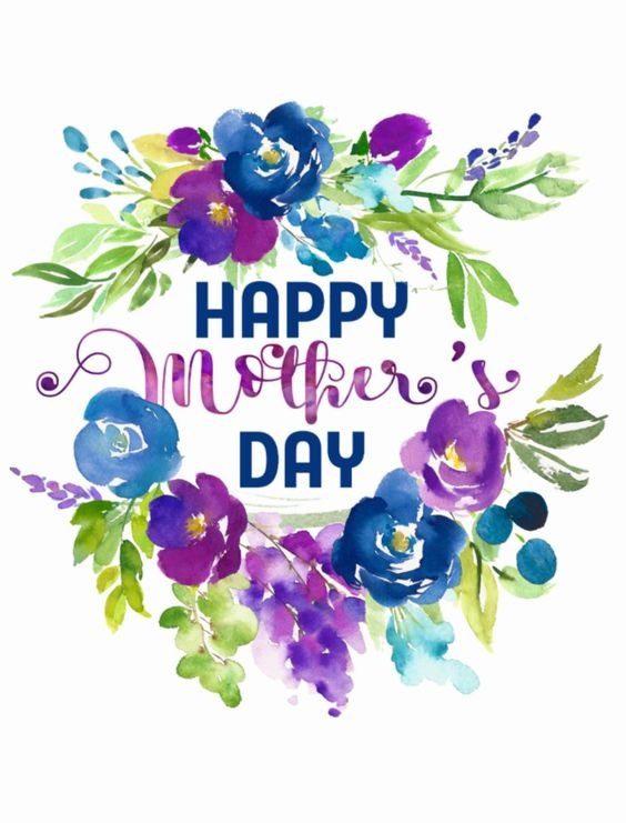 عکس نوشته تبریک روز مادر انگلیسی