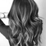 عکس رنگ موی دودی زیتونی