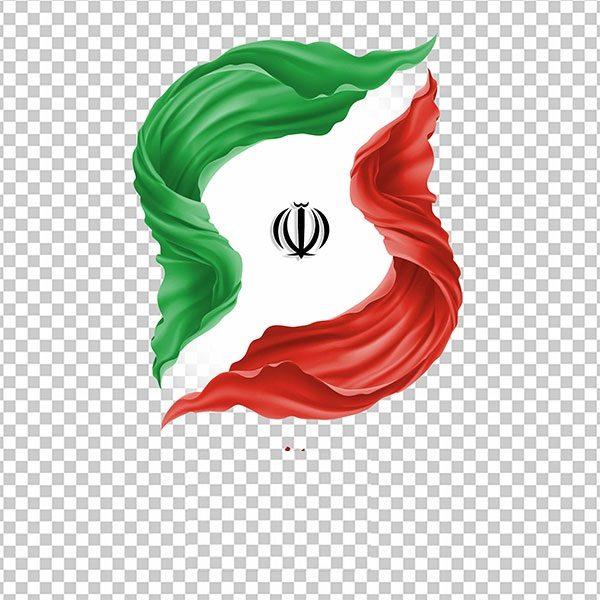 عکس پرچم ایران با فرمت PNG