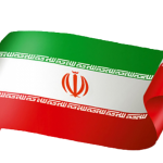 طرح وکتور پرچم ایران برای طراحی