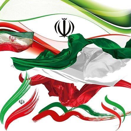 عکس خلاقانه پرچم ایران بدون پس زمینه