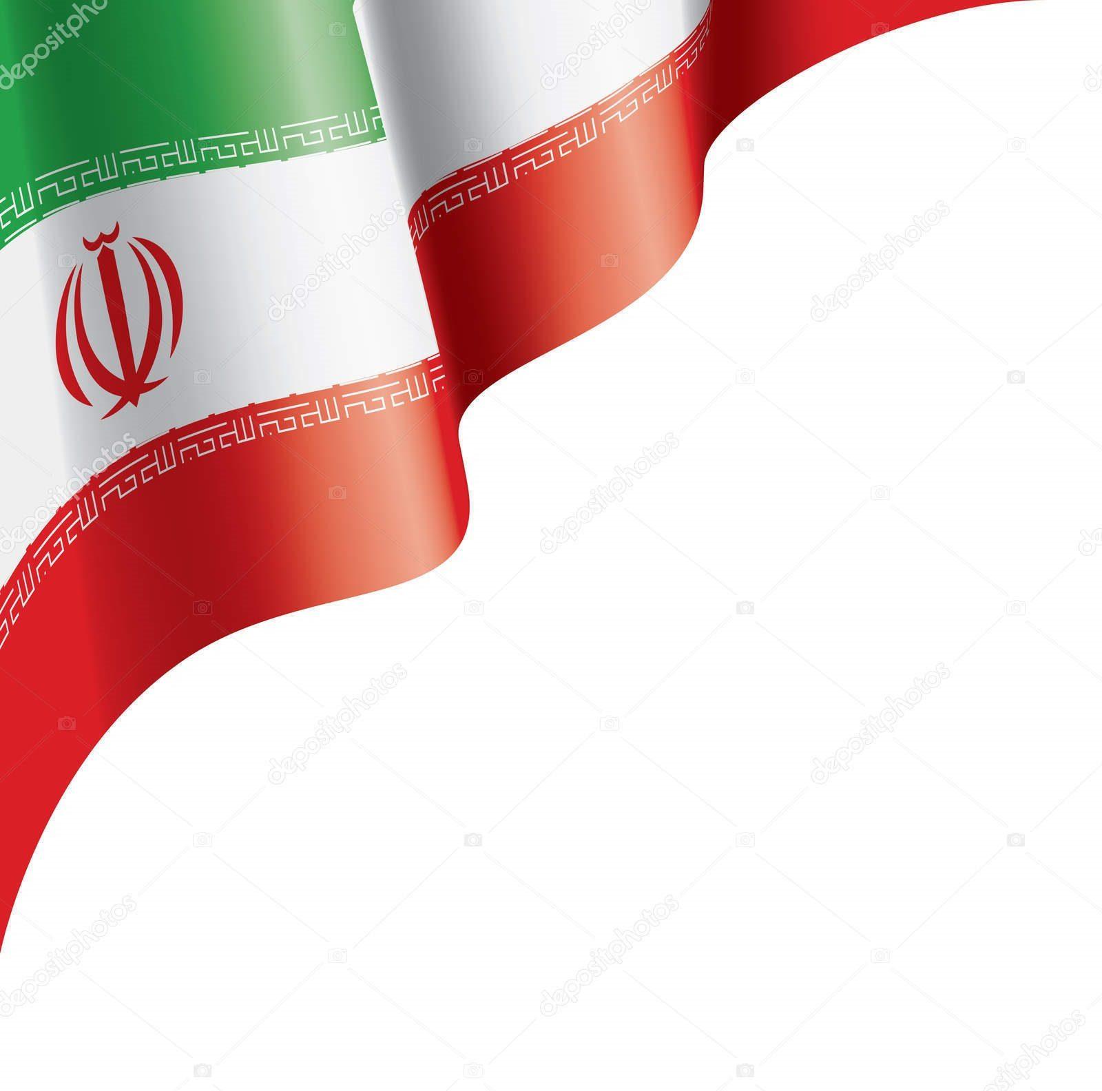 عکس باکیفیت بالا از پرچم ایران