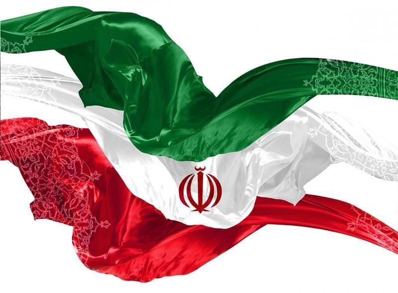 عکس پرچم ایران دور بریده شده