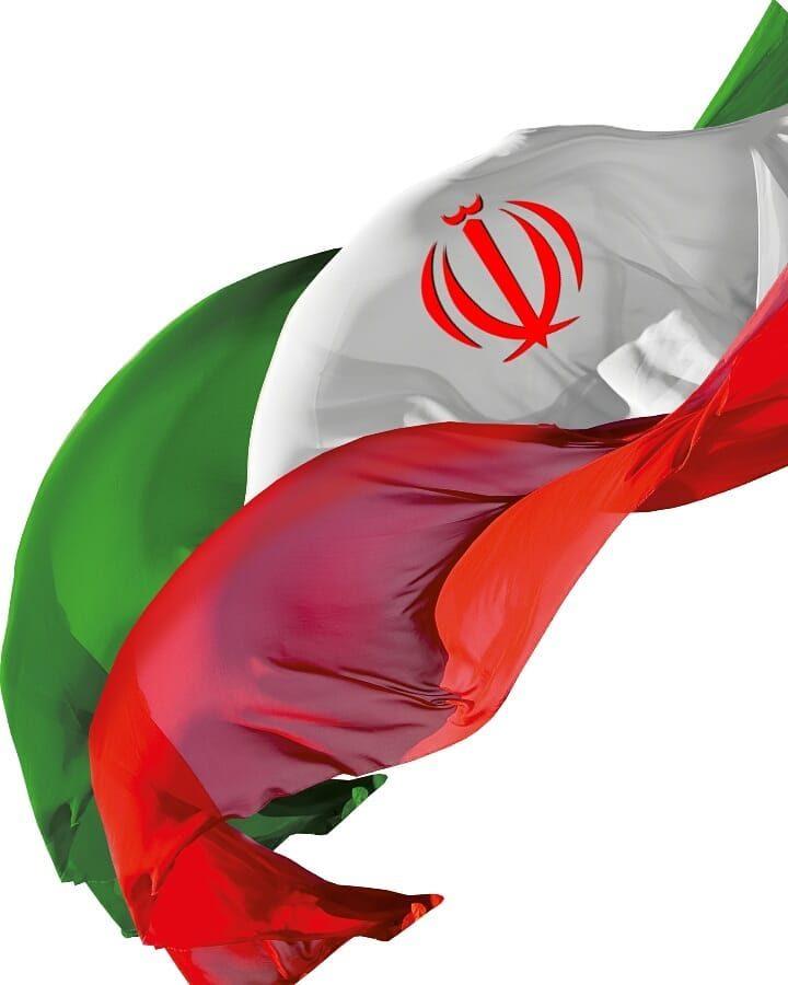 عکس پرچم ایران در باد با وضوح بالا و بدون پس زمینه