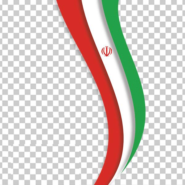 عکس لایه باز پرچم ایران