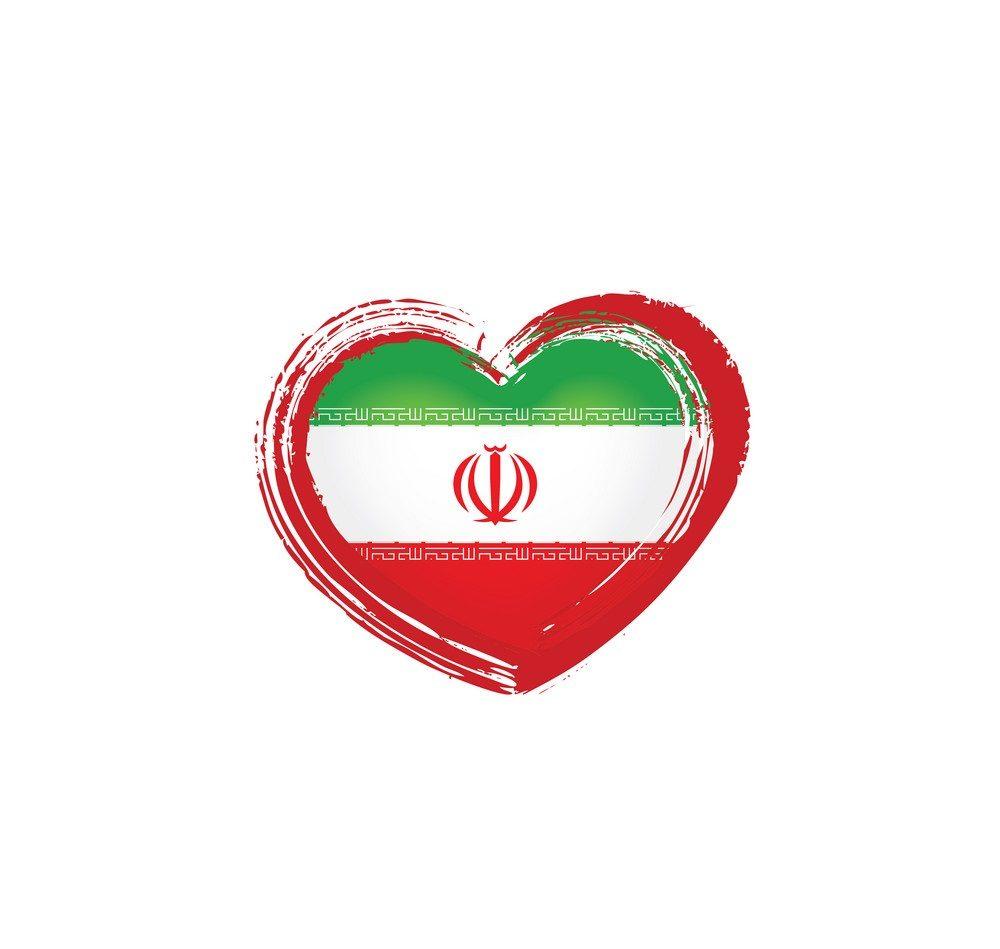 عکس پرچم ایران با کیفیت مناسب طراحی