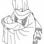 نقاشی کودکانه حضرت فاطمه زهرا