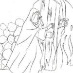 نقاشی حضرت فاطمه برای کودکان