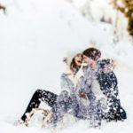 عکس برفی عاشقانه برای پروفایل