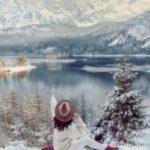 عکس پروفایل دخترانه از طبیعت زمستان