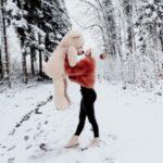 عکس زمستانی دخترانه پروفایل