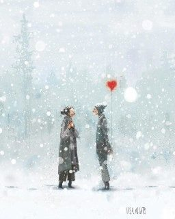 متن عاشقانه درباره زمستان