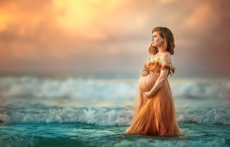 شیک ترین ژست عکس بارداری تکی