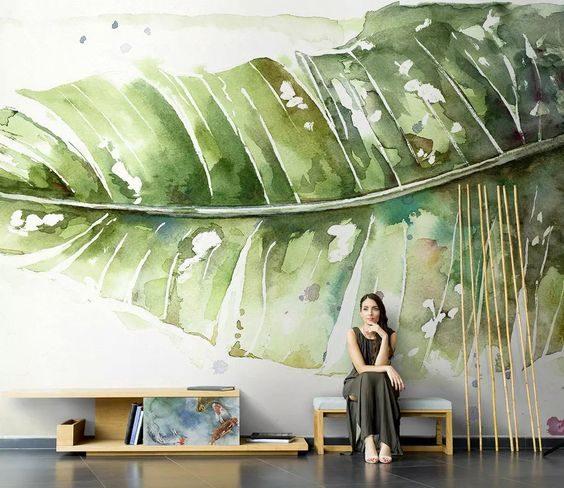 عکس کاغذ دیواری سه بعدی طبیعت