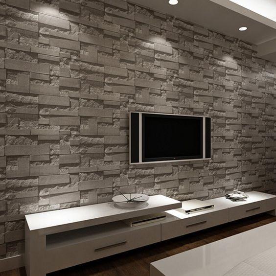 عکس کاغذ دیواری پشت تلویزیون