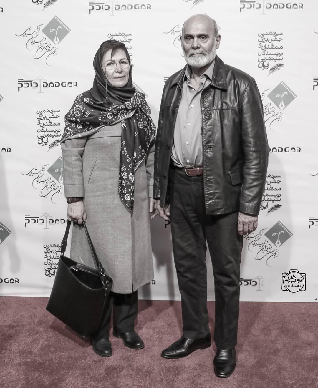 عکس جمشید هاشم پور در اختتامیه جشنوراه فیلم فجر 98