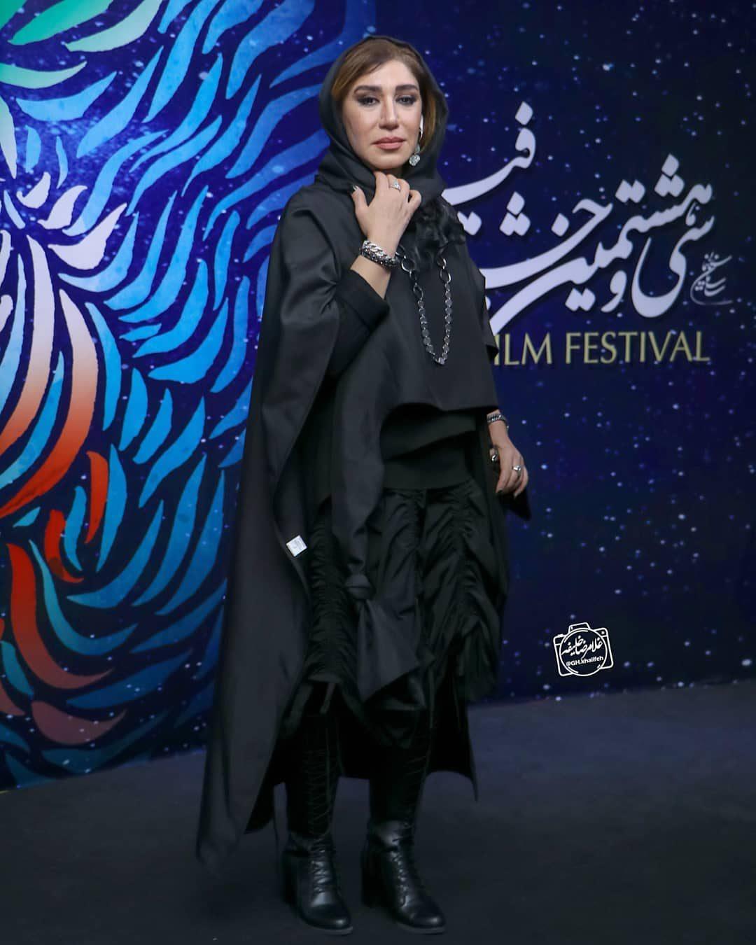 عکس نسیم ادبی در اختتامیه جشنوراه فیلم فجر 98