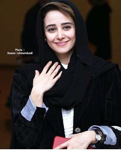 عکس الناز حبیبی در اختتامیه جشنوراه فیلم فجر 98