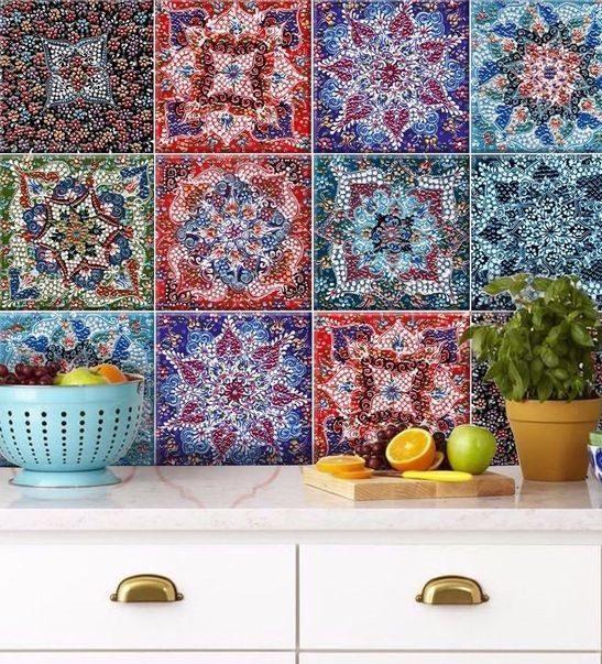کاغذ دیواری سه بعدی سنتی