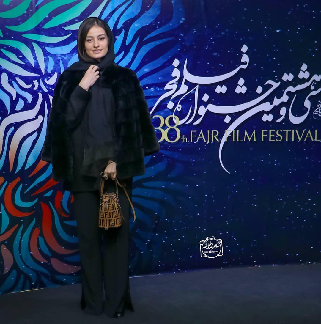 عکس شبنم گودرزی در اختتامیه جشنواره فیلم فجر 98