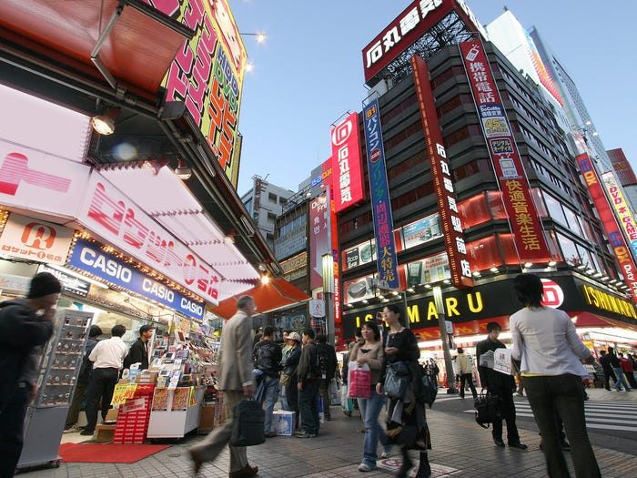 بهترین شهرهای جهان برای زندگی: توکیو در ژاپن