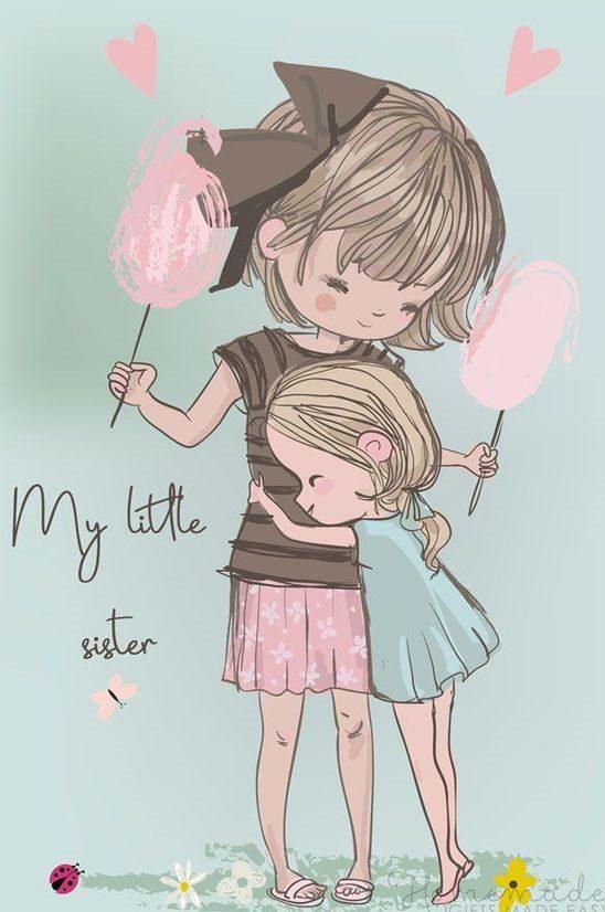 متن تبریک تولد برای خواهر کوچکتر
