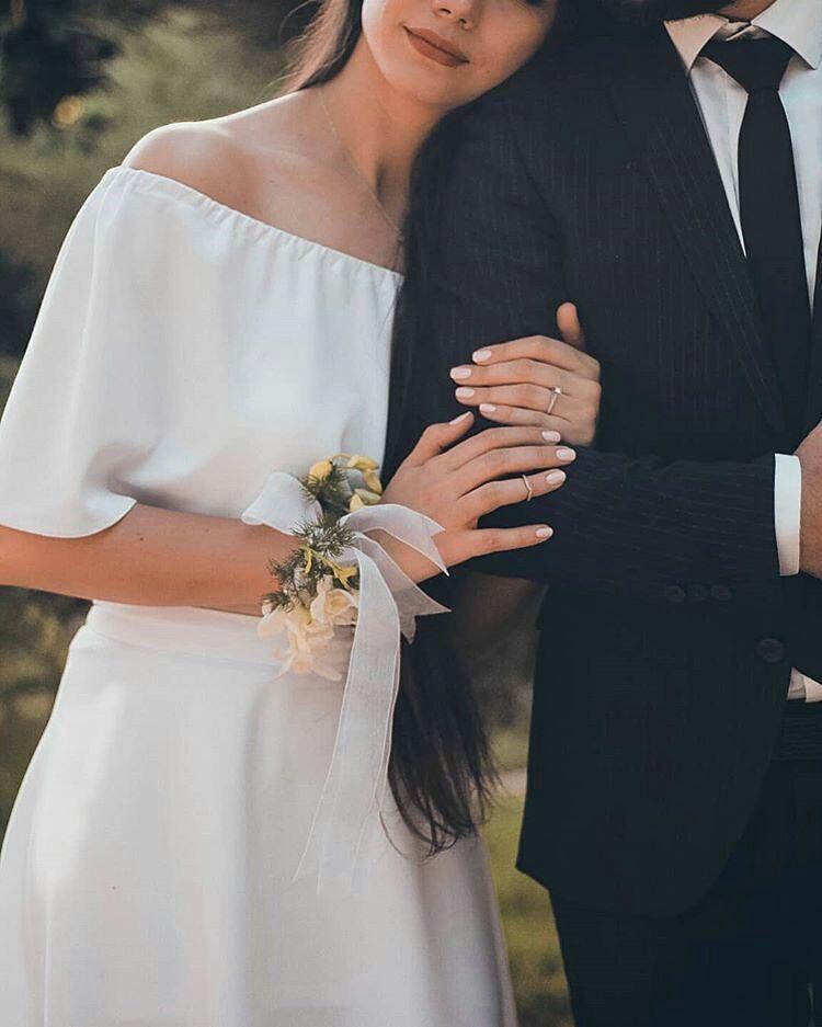 عکس دست در دست عروسی