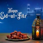 عکس نوشته برای تبریک عید سعید فطر به زبان انگلیسی