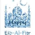 عکس نوشته تبریک عید فطر با کیفیت hd