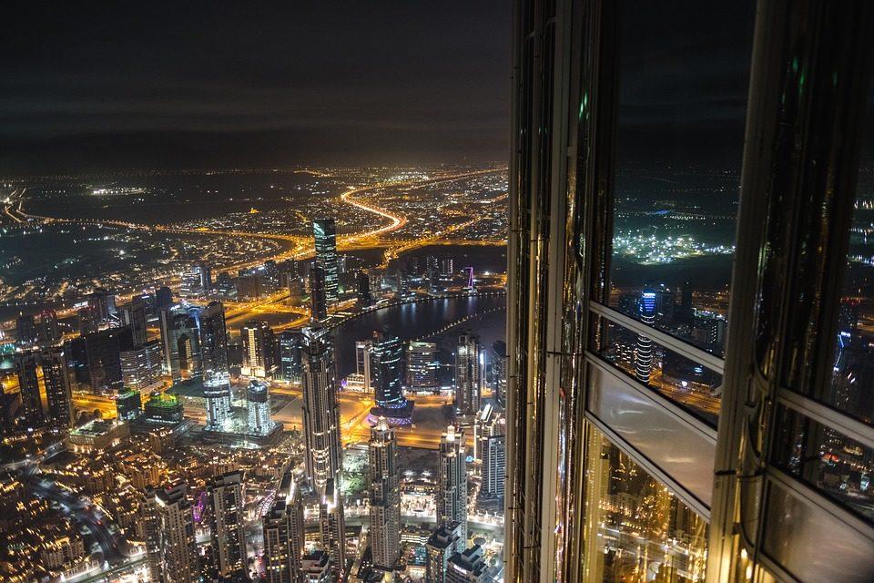 عکس از بالای برج خلیفه