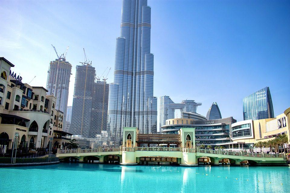 برج خلیفه نمای روز