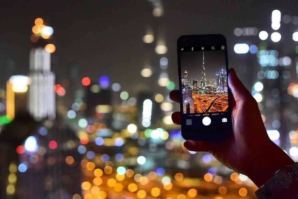 برج خلیفه عکس با گوشی