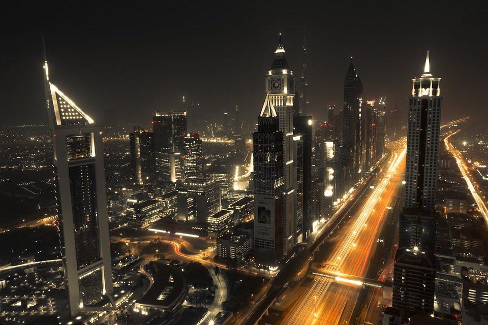 عکس از نمای بالای برج خلیفه