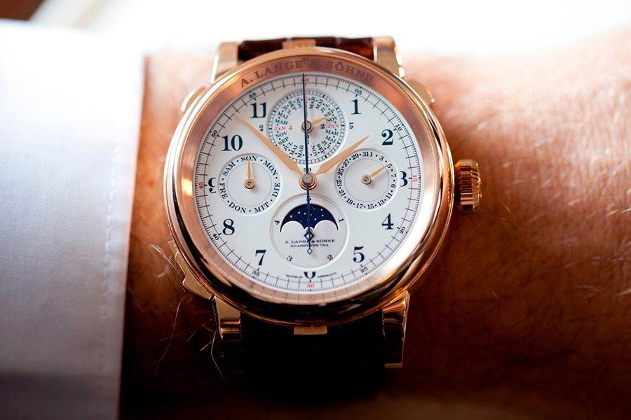 ساعت lange and sohne grand complication