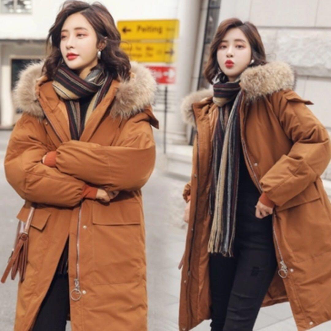 مدل کاپشن خردار کره ای شیک دخترانه