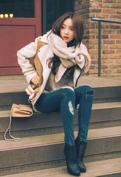 مدل کاپشن دخترانه جدید کره ای