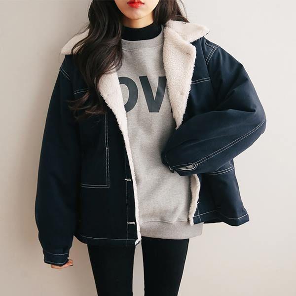 مدل کاپشن فانتزی دخترانه کره ای