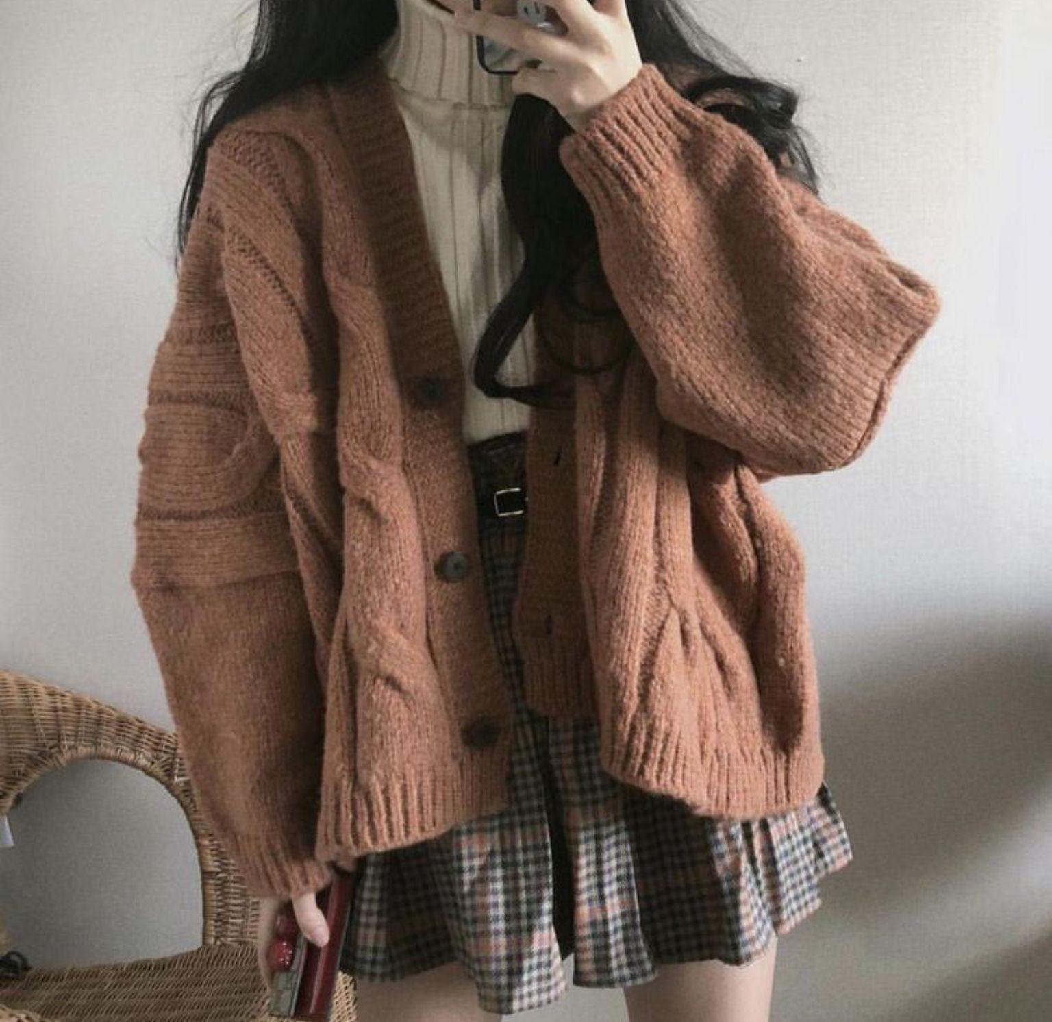 مدل کت زمستانی دخترانه کره ای