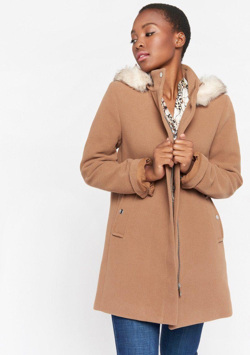 جدیدترین مدل پالتو زنانه با پارچه فوتر