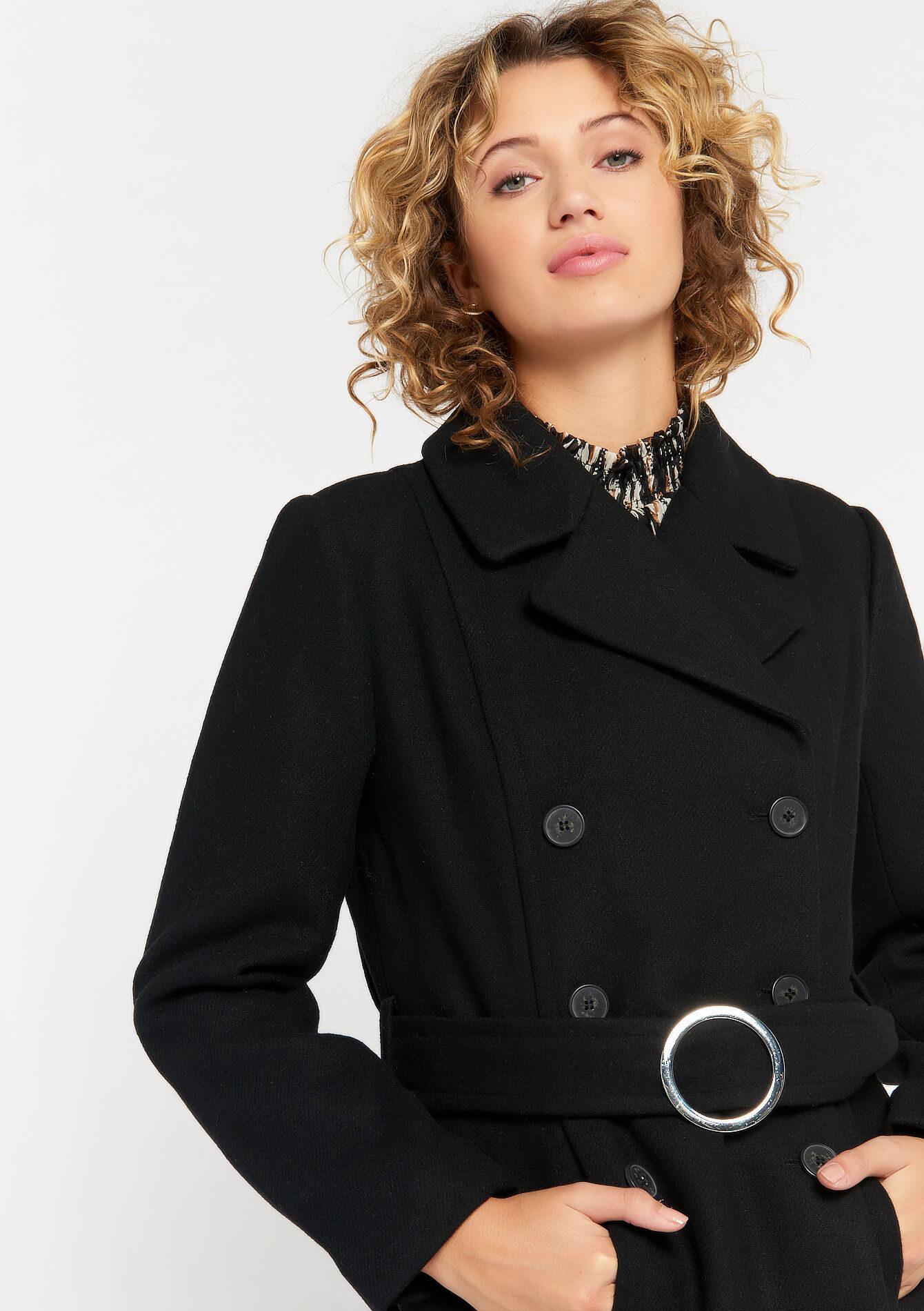 شیک ترین مدل پالتو زنانه با پارچه فوتر