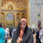 عکس با حجاب آناشید حسینی