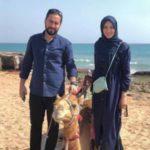 اناشید حسینی و همسرش در کیش
